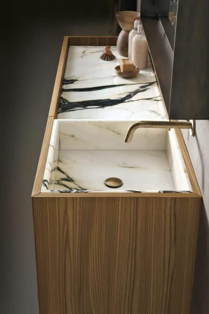 Bathroom Corian Countertop
