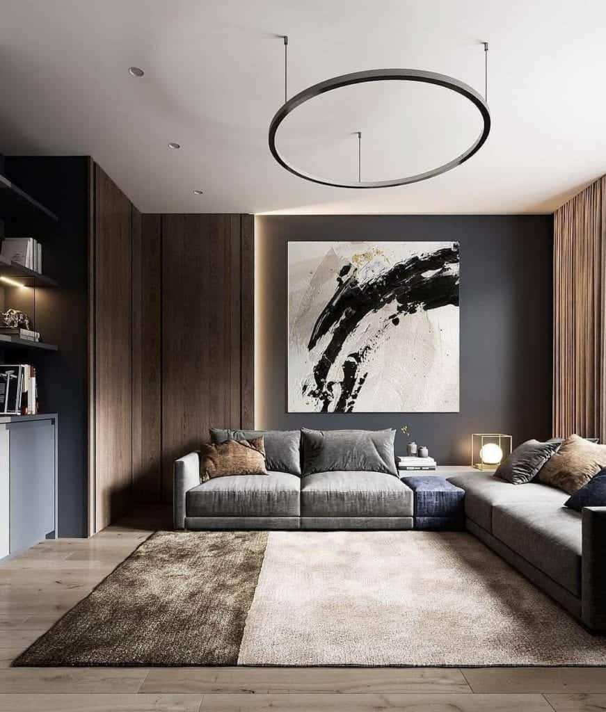 Big Wall art in living room