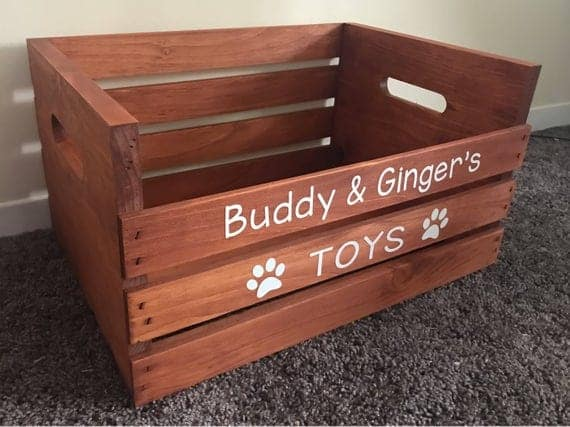 Crate for stuffed animals and other toys