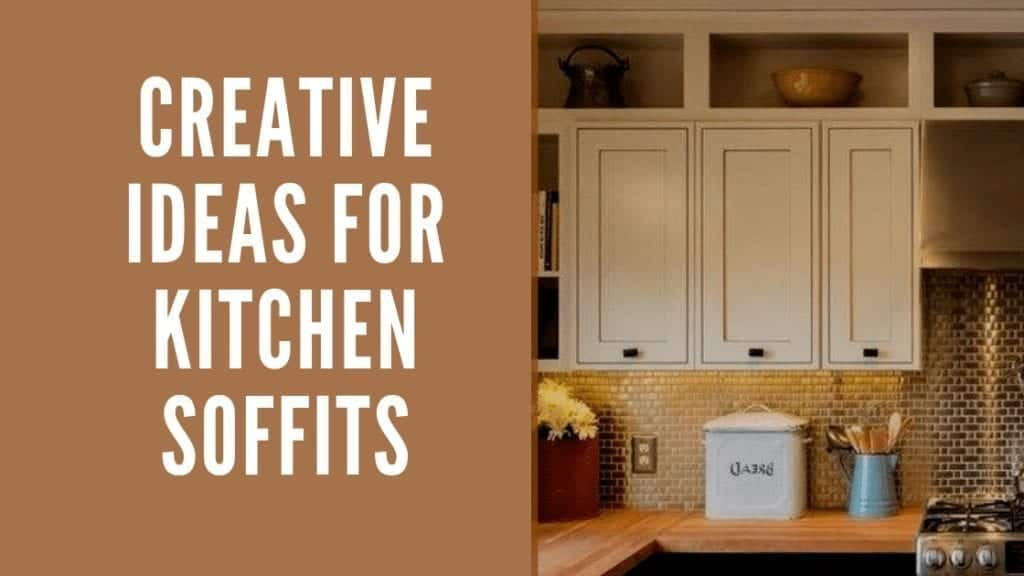 10 Creative Ideas for Kitchen Soffits | Let's make them ... on ideas to decorate stairways, ideas to decorate kitchen cabinets, ideas to decorate kitchen walls, ideas to decorate kitchen windows,