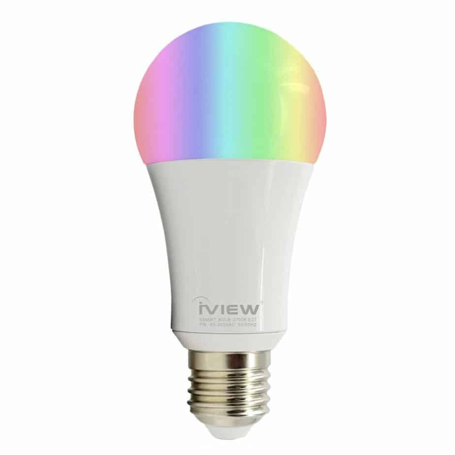 With Smart bulbs you can set brightness and all RGB colors