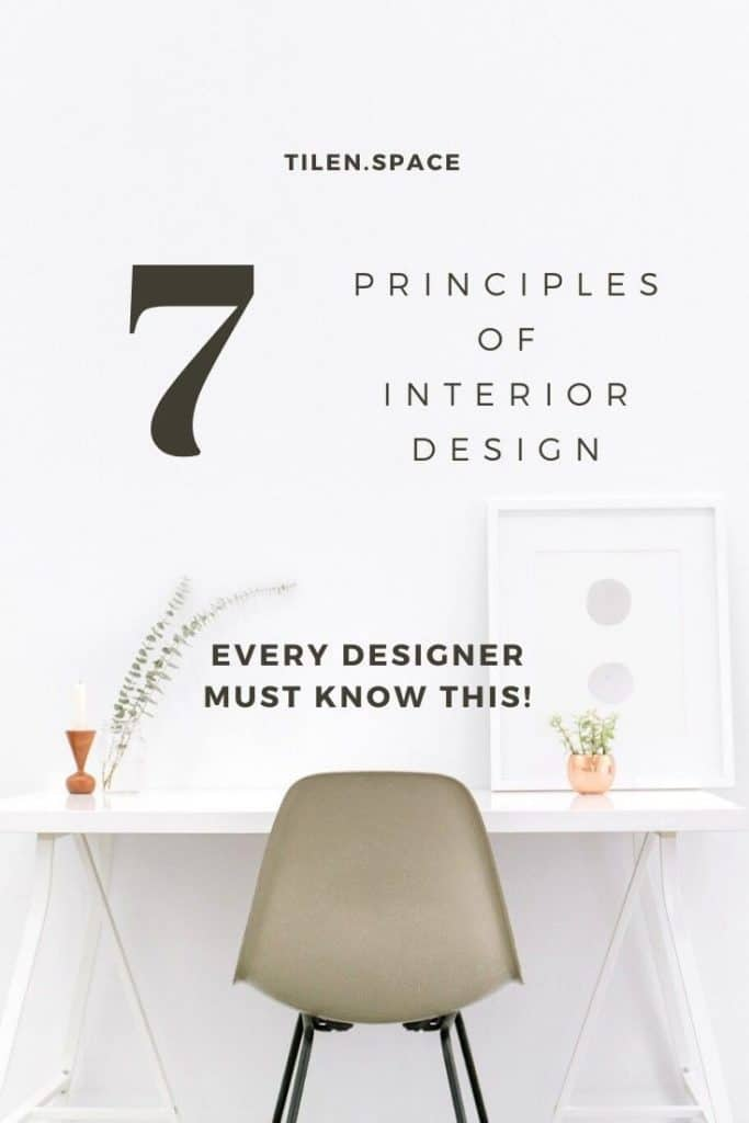 7 principles of interior design