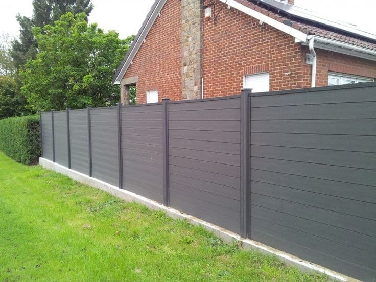 7 Best Fencing Materials : 2. Composite Fence