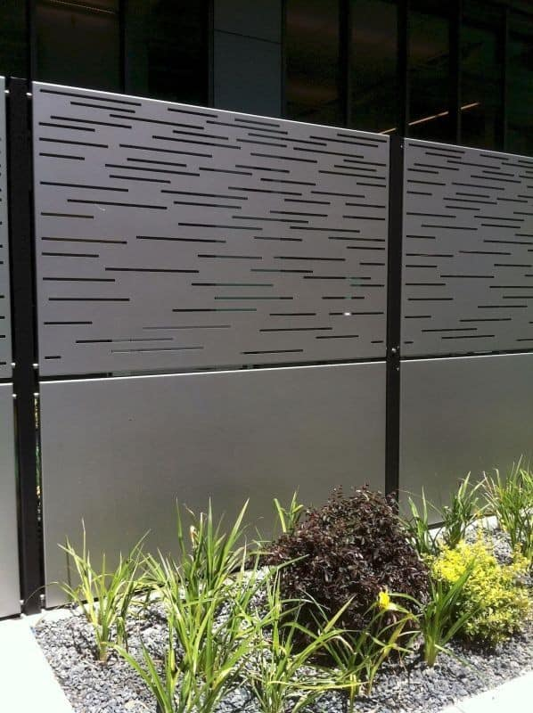 7 Best Fencing Materials : 5. Steel fence