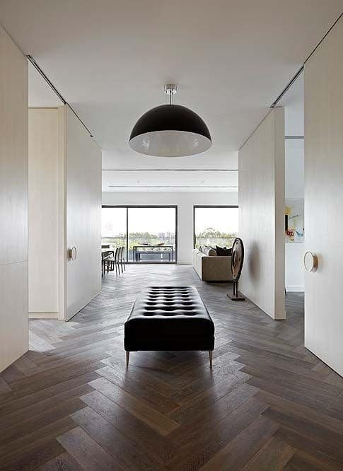 Align and lay your wooden floors in direction of lighting
