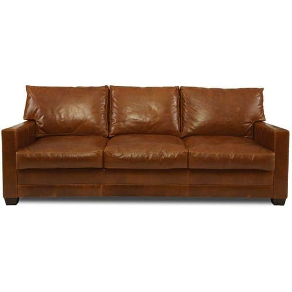 7. Lawson brown sofa