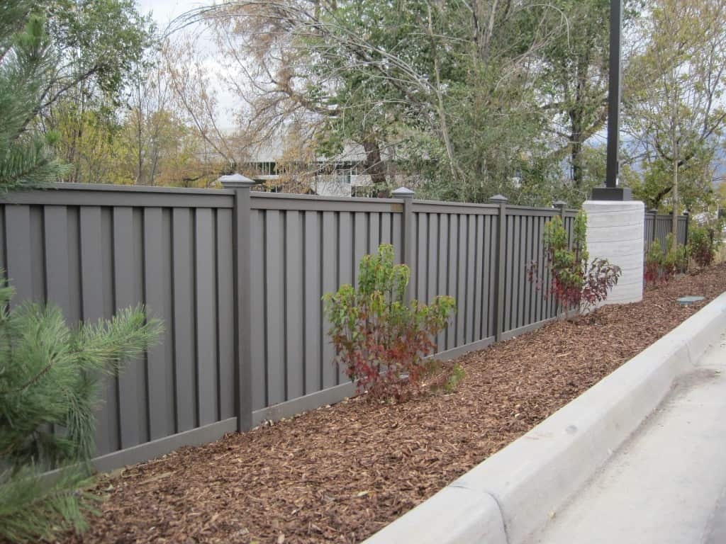Grey composite fencing - everything you need to know
