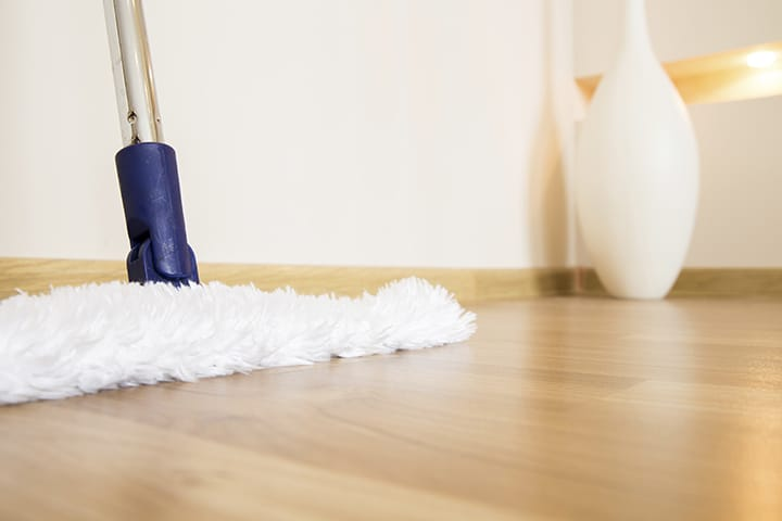 How to clean your laminate floors