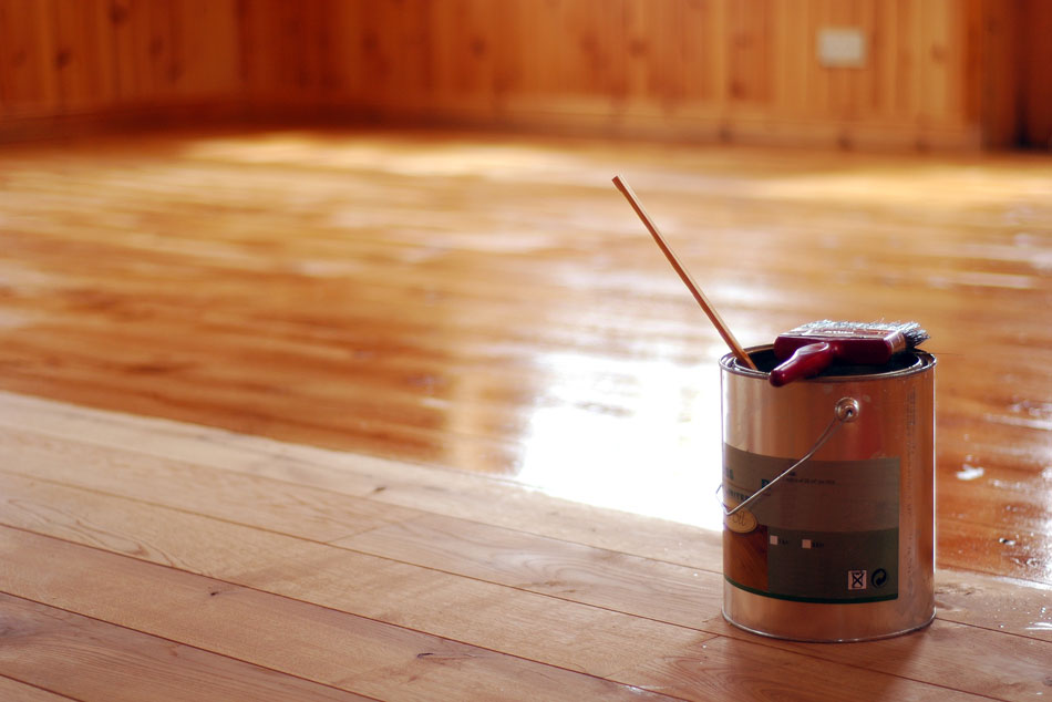Can you paint your Laminate Floors or stain them?