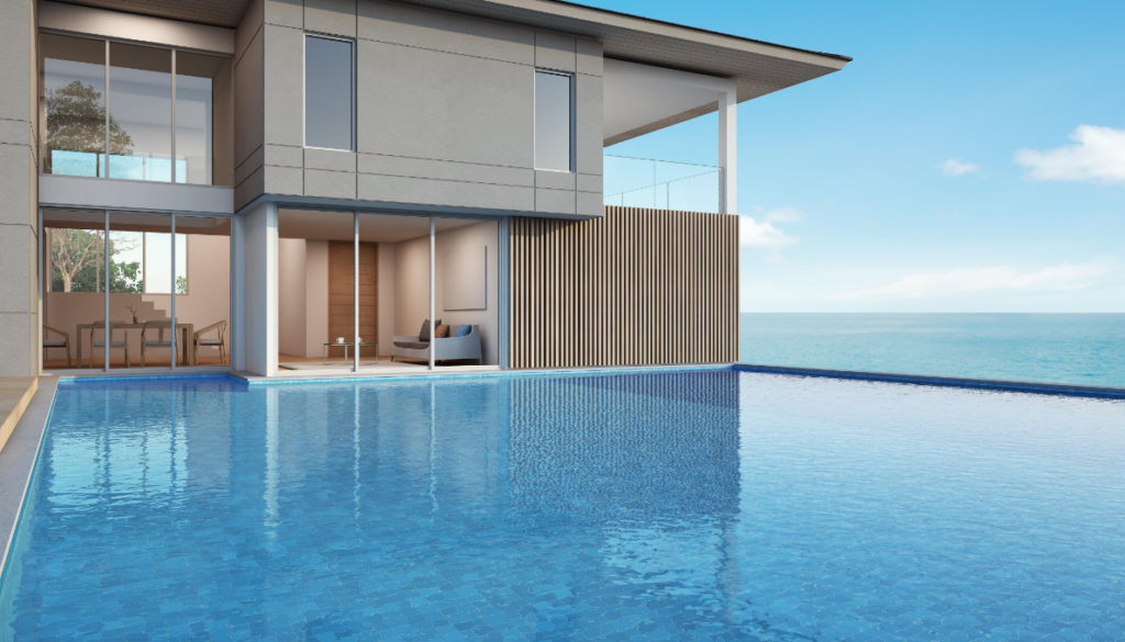 Perfect Modern house design with infinity pool