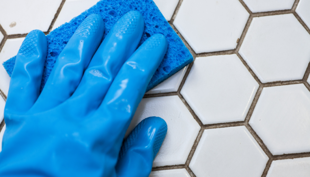 Removing Grout off Natural Stone Tiles