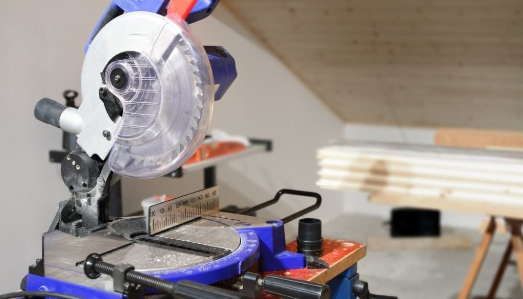 Can you cut vinyl flooring with a miter saw