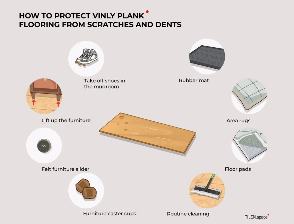 How Do You Protect Vinyl Plank Flooring from Scratches and Dents